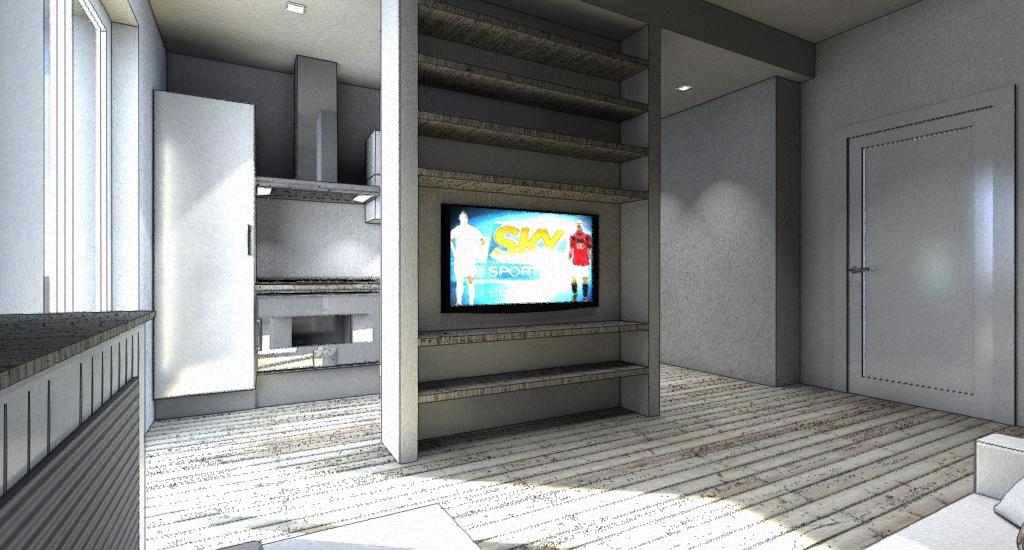 Parete Cartongesso Porta Tv: Parete attrezzata soggiorno cartongesso idee per...