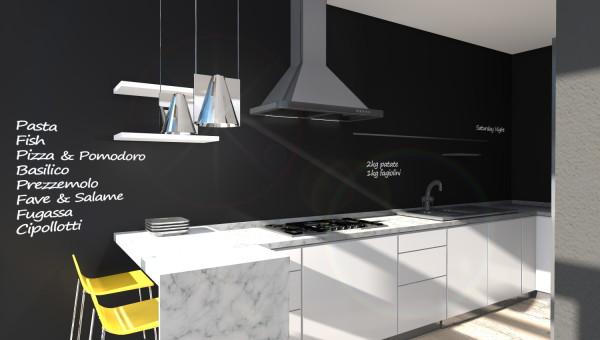 Cucina-Moderna-Vernice-Lavagna