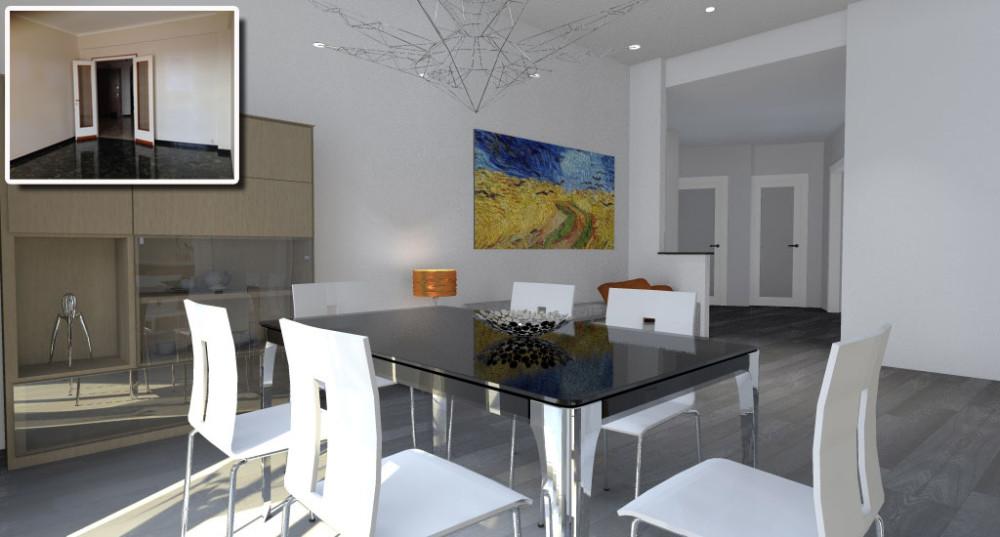 Luci soggiorno moderno latest arredo soggiorno cucina - Luci soggiorno moderno ...
