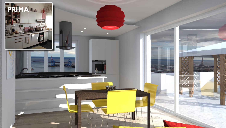 Illuminazione Cucina Open Space: In un open space la cucina deve essere a vis...
