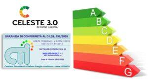 Certificazione Energetica APE Regione Liguria Software Celeste 3.0