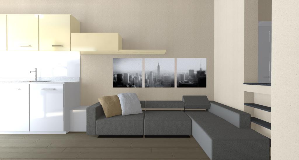 MODELLAZIONE 3D soggiorno2