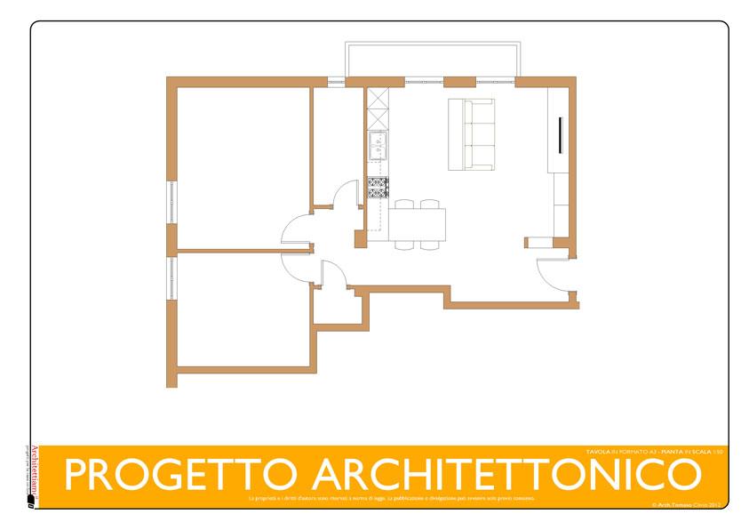 Progetto Architettonico Arredi