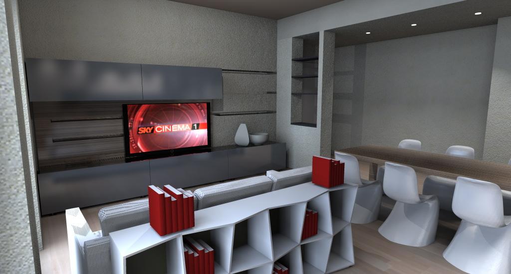 living val polcevera - Soggiorno Living Progetto 2