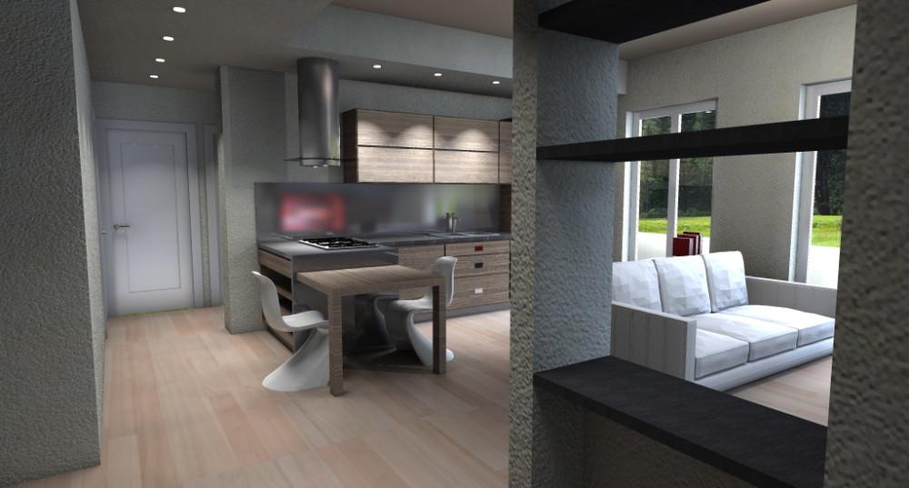 Emejing Idee Arredamento Cucina Soggiorno Gallery - Design & Ideas ...