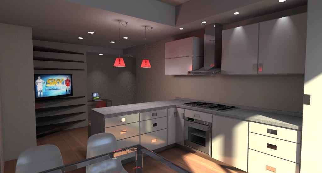 appartamento di 65 mq in Val Bisagno