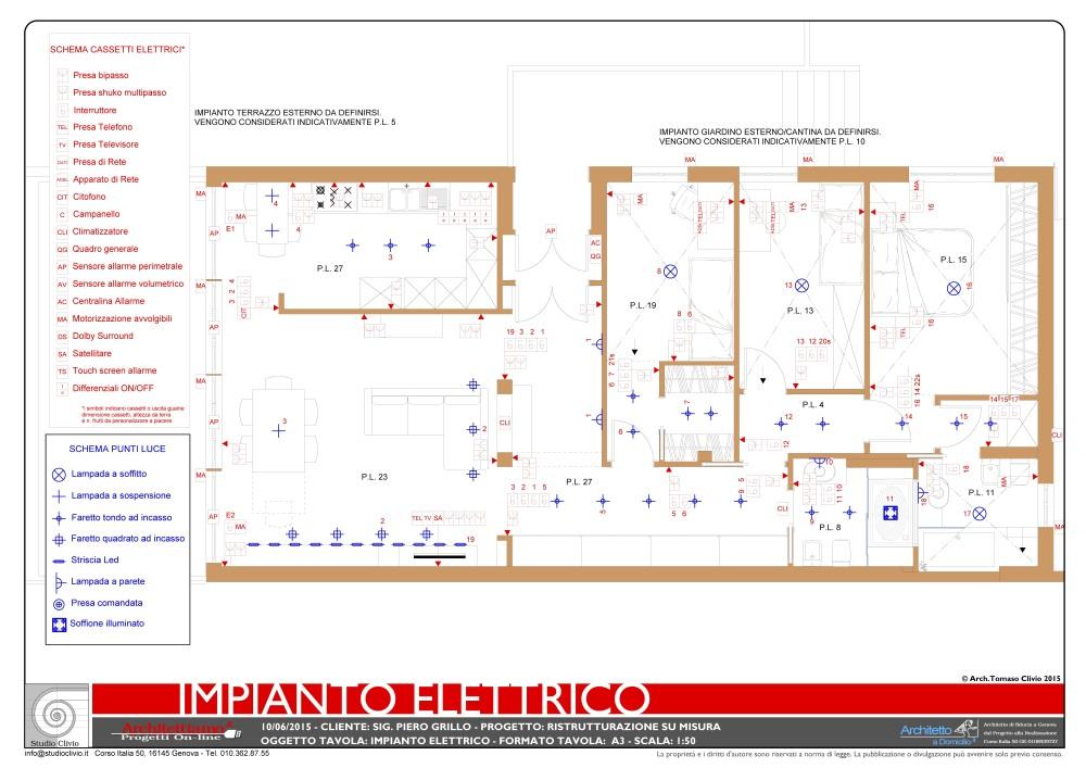 Schema Elettrico Per Jam : Schema elettrico per invertitore punto luce a relè