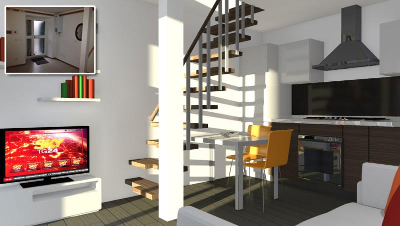 Piccolo open space - Cucina soggiorno open space piccolo ...