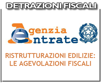 Detrazioni Fiscali per Ristrutturazioni Edilizie